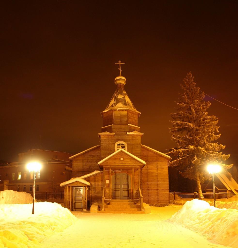 храм_зима_вечер